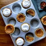 Sweet potato pie topped with italian meringue